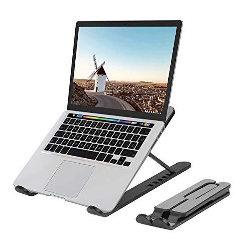 Evershop Laptop Tablet Ständer,Notebook Ständer Tragbarer Faltbar Höhenverstellbar,Laptop Halterung Kompatibel Für MacBook Pro/Air HP Dell Lenovo Samsung Acer Huawei Alle 10-15.6 Zoll Notebooks