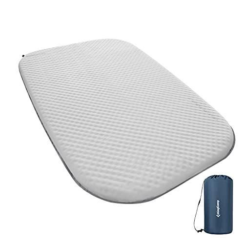 KingCamp Deluxe Series Thick Self Inflating Camping Sleeping Pad Foam Mat Mattress