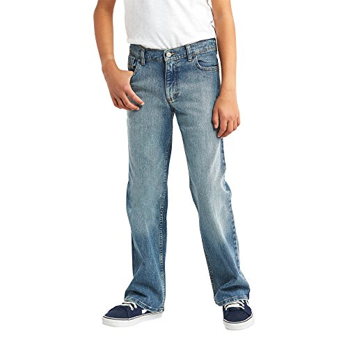 Wrangler Kids Big Authentics Boys Knit Denim Jean