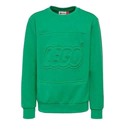 Lego Wear Lego Boy Lwsiam 602-Sweatshirt Felpa, Verde (Green 866), 146 Bambino