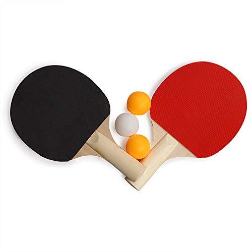 Table Tennis Set, 2 Bats and 6 Ping Pong Balls