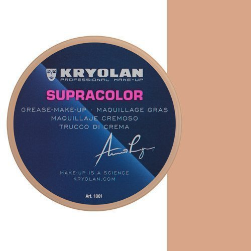 KRYOLAN Theaterschminke Supracolor Fettschminke Creme Make up 8 ml Farbe Natural1 = NB1