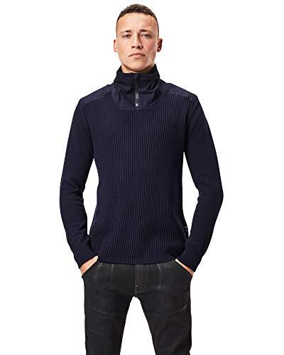 G-STAR RAW Herren Dast Half Zip Sweatshirt