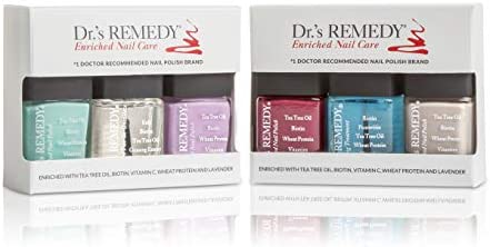 Dr s REMEDY Anti Fungal Nail Polish ANNUAL Abundance Kit With TOTAL Two In One HYDRATION Nail product image