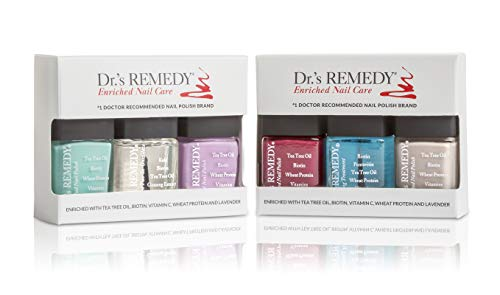 Dr.'s REMEDY, Anti-Fungal Nail Polish ANNUAL Abundance Kit With TOTAL Two-In-One, HYDRATION...