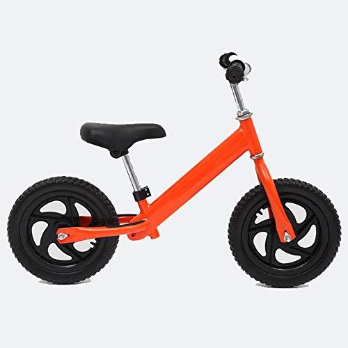 """Bicicleta para niños Bicicleta Infantil Bicicleta de equilibrio for niños y niñas, de 12"""" sin pedal de la bici Ruta de Formación de bicicletas con manillar y asiento ajustables, por 2,3,4,5,6 Años de"""