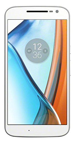 moto  g4 Smartphone (14 cm (5,5 Zoll), 16GB, Android) weiß