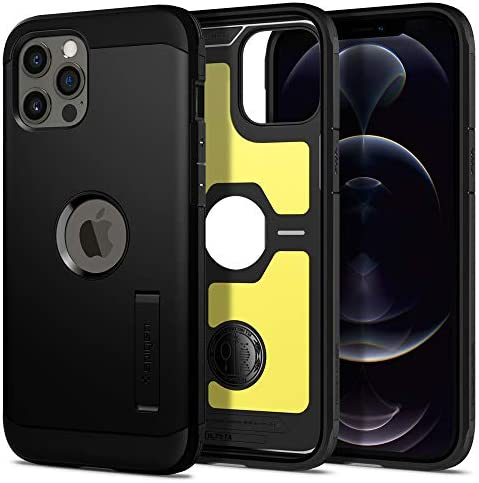 Spigen Tough Armor Designed for iPhone 12 Pro Max Case 2020 Black product image