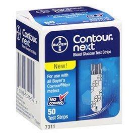 Contour Next blud glucose test strips - 50 Count