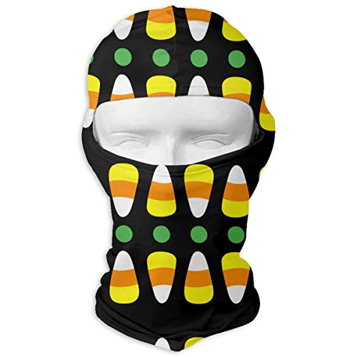 MKDOQS Corn Candy Full Face Mask Sun Dust Wind Protection Durable Breathable Seamless Face Mask Bandana