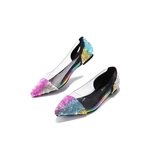 Top 10 best selling list for ladies clear flat shoes
