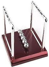 Pêndulo de Newton Ciência Conservação e Momento de Energia + Mini Quebra Cabeça de Metal - 14cm
