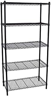 Pyson stainless steel iron kitchen shelf kitchen supplies storage rack microwave bathroom floor five store shelves