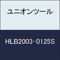 ユニオンツール 超硬エンドミル ロングネックボ-ルR0.15×1.25Xφ4 HLB20030125S