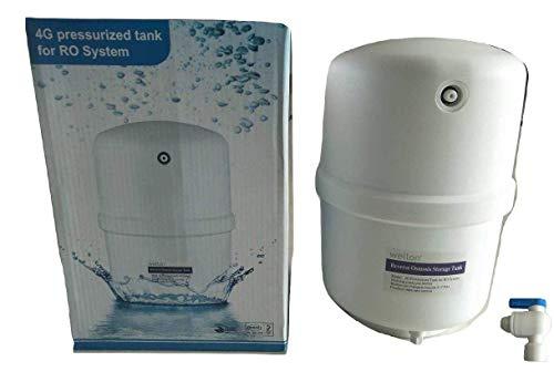 Wellon Reverse Osmosis Water Storage Pressure Tank, 10 L