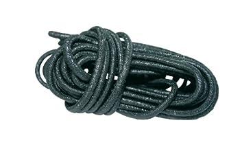 Cao 444 Câble élastique lit de Camps/Relax Adulte Unisexe, Noir, 2x4,25m 5mm de diamètre