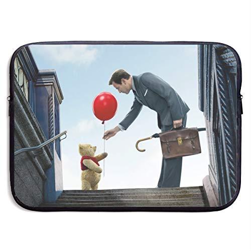 Winnie The Pooh - Bolsa de Transporte para Ordenador portátil y Tableta, Ultra portátil