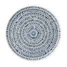 ED Ellen DeGeneres Crafted By Royal Doulton Cobalt Blue Chevron Serving Platter