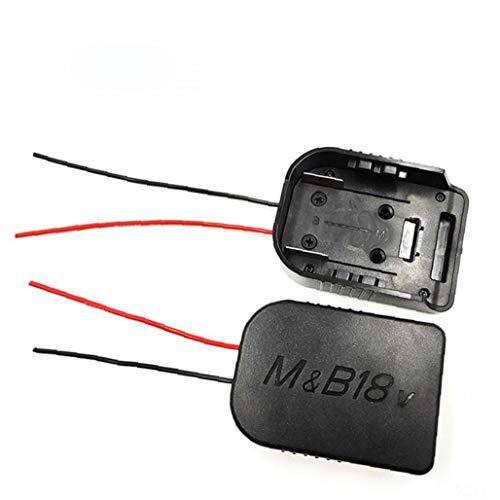 Naisicatar Für Makita 18v / 18v Bosch Li-ionen-akku DIY-Kabel Schließen Sie Output-Adapter-Tool