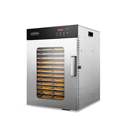 Check Out This 12 Trays Food Dehydrator Machine With,Full Glass Window, Thermostat 30-90℃, Timer 2...