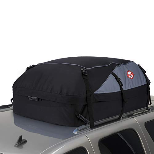 20 Cubic Feet Thickened Car Cargo Roof Bag- Waterproof Universal Soft Rooftop Bag Luggage Carriers...