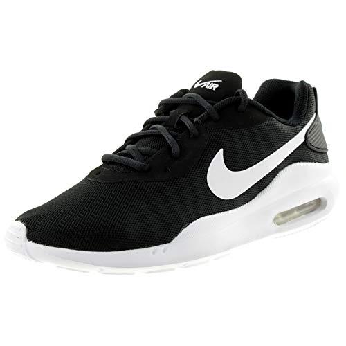 Nike Air MAX Oketo, Sneaker Mujer, Negro/Blanco, 44 EU