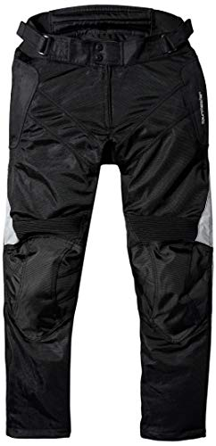 Tourmaster Venture Air 2.0 Men's Textile Motorcycle Pant (Black, X-Large)