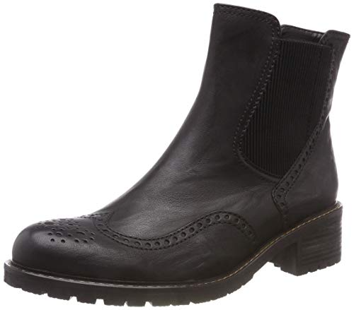 Gabor Shoes Damen Comfort Basic Stiefeletten, Schwarz (Schwarz (Mel.) 17), 40.5 EU