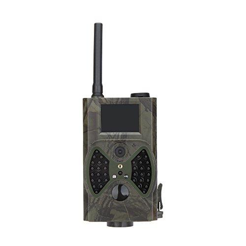 Lixada Wildkamera Jagdkamera 940NM Scouting HC300M HD GPRS MMS Digitale Infrarot Trail Kamera