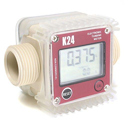Red K24 medidor digital de flujo de combustible diésel de turbina para agua química