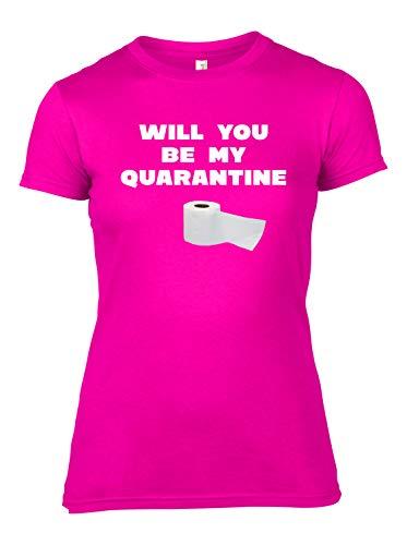 My Quarantine Toilet Paper T-Shirt Corona 2020 Couples Novelty Tee