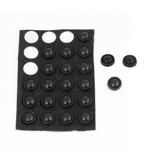 sourcing map Filzgleiter Tisch Stuhl Halbkugel haftmittel Gummi Fuß füllt Schutz 20 in 1 8mmx2mm de