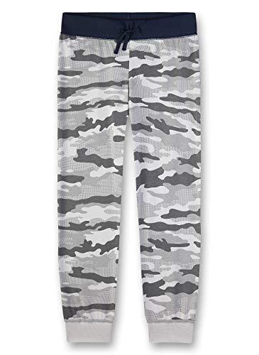 Sanetta Jungen Pyjama Hose Schlafanzughose, Grau (grau 1988), (Herstellergröße:164)