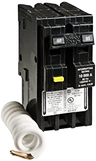 Square D by Schneider Electric HOM250GFICP Homeline 50-Amp Two-Pole GFCI Circuit Breaker