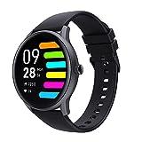 SoundPEATS Smartwatch Smart Bracelet, Sportuhr wasserdichte IPX68-Vollbild-Touch-Aktivitätsmonitore mit Herzfrequenzmesser, Kalorienmonitor, Schlaf, Schrittzähler, Sportuhren GPS-Schrittmonitor