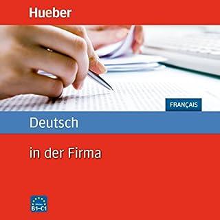 Couverture de Deutsch in der Firma: Französisch