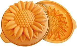 Silikomart 1 Cavity Cake Mold, Orange