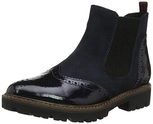 MARCO TOZZI Damen 2-2-25412-33 Chelsea Boots, Blau (Navy Comb 890), 40 EU