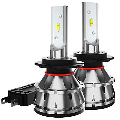 TIANFUYAO H7 LED Headlight Bulbs - 100W 12000LM 6000K Xenon White - High/Low Beam,Fog Light Bulb Conversion Kit - IP67,CSP Chips,360 Degree