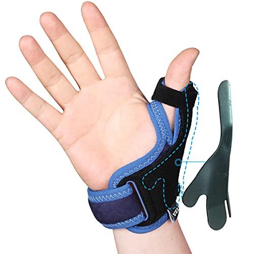 Velpeau Thumb Support Brace – CMC Joint Thumb Spica Splint for Pain Relief, Arthritis, Tendonitis, Sprains, Strains…