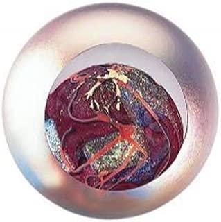 Glass Eye Studio Celestial Series Planet Mars Paperweight