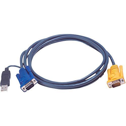 ATEN Cable CONVERSOR PS2 A USB Consolas KVM 3M VGA