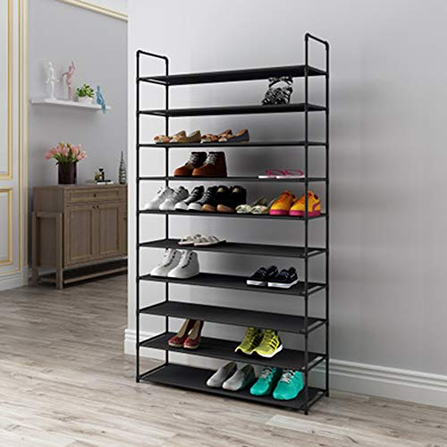 KOKOF Zapatero – Estante para Zapatos Grueso, fácil de Combinar, con Gran Capacidad, 10 Niveles