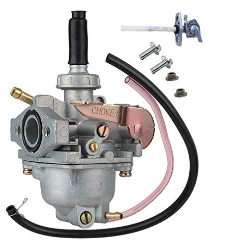Carburetor &Fuel Valve,Compatible Fits Hon-da Crf50 Xr50 Z50 Crf Xr 50 Z50R,Fuel Valve OEM# 16950-GCF-671