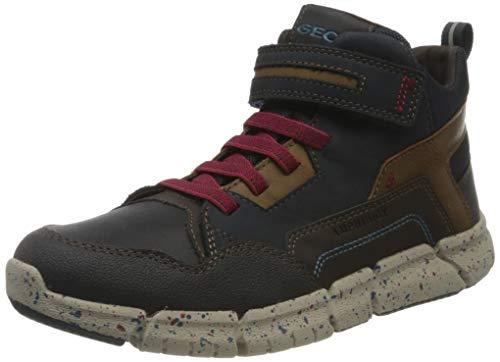 GEOX J FLEXYPER BOY B ABX NAVY/DK RED Boys' Boots Snow size 33(EU)