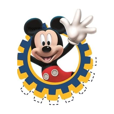 Mickey Mouse Clubhouse Gang Room Decor Wall Decal Removable Sticker