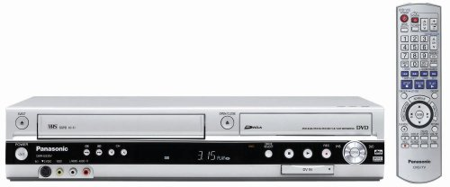 Panasonic DMR-ES35VS DVD Recorder / VCR Combo with DV Input