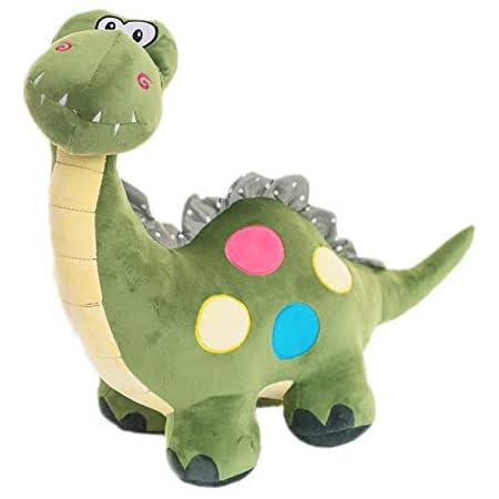 EQLEF Verde Sveglio del Dinosauro Peluche per Il Capretto - 1 Pezzo (Verde)