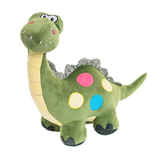 EQLEF 1 Pedazo Verde Lindo Dinosaurio Juguetes de Peluche para niño (Verde)