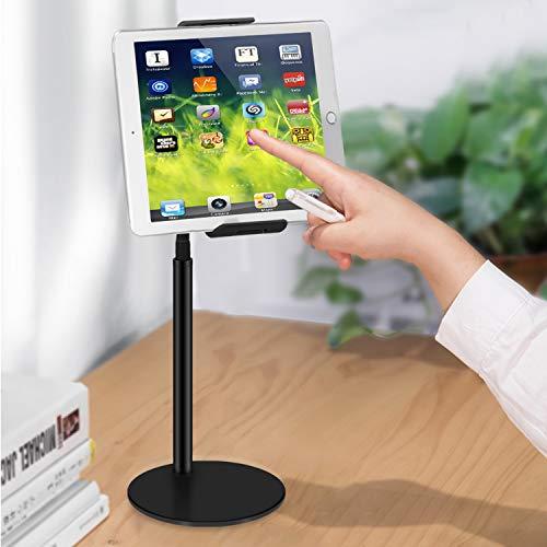 Soporte de escritorio para tableta, soporte de escritorio ajustable de 360 grados, multiángulo, compatible con tabletas de 4 a 10.5 pulgadas, Galaxy Tab, Nintendo Switch Holder